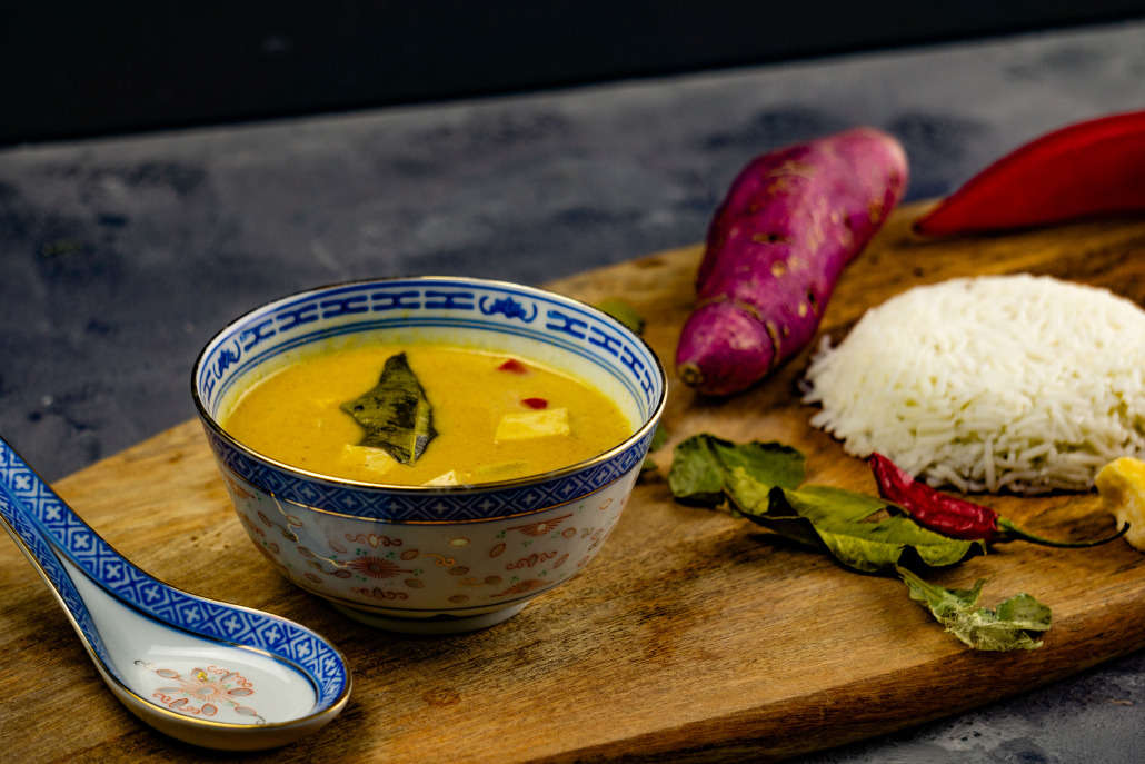 Gelbes Thai Curry grillnations