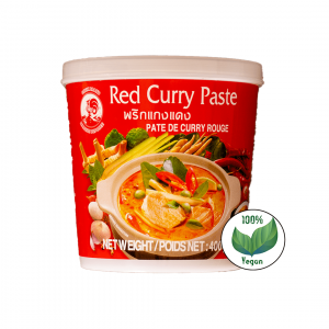 Rote Curry Paste Cock Brand